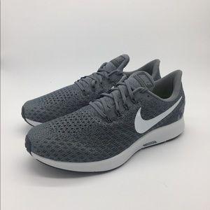 Men's Nike Air Zoom Pegasus 35 Gray Running Shoes